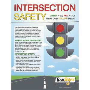 Intersection Safety Poster