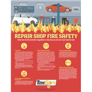 Repair Shop Safety Poster