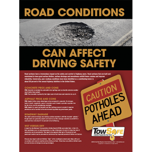 Road Conditions Poster
