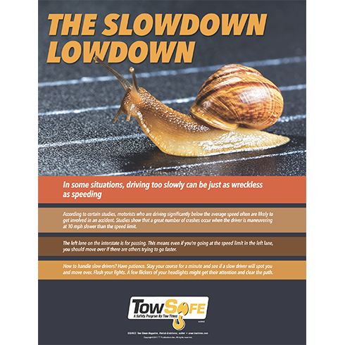 Slow Down Low Down Poster