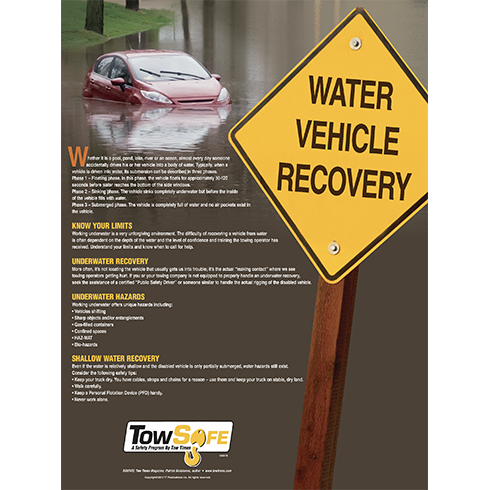 Water Vehicle Recovery Poster